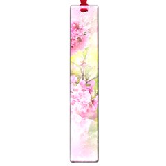 Flowers Pink Art Abstract Nature Large Book Marks