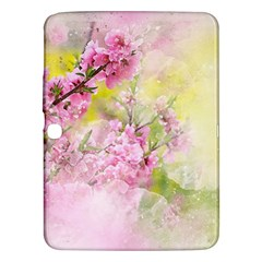 Flowers Pink Art Abstract Nature Samsung Galaxy Tab 3 (10 1 ) P5200 Hardshell Case