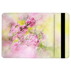 Flowers Pink Art Abstract Nature Ipad Air 2 Flip