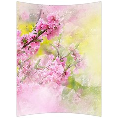 Flowers Pink Art Abstract Nature Back Support Cushion