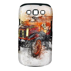 Car Old Car Art Abstract Samsung Galaxy S Iii Classic Hardshell Case (pc+silicone)