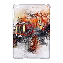 Car Old Car Art Abstract Apple Ipad Mini Hardshell Case (compatible With Smart Cover)