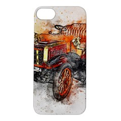 Car Old Car Art Abstract Apple Iphone 5s/ Se Hardshell Case