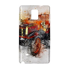 Car Old Car Art Abstract Samsung Galaxy Note 4 Hardshell Case