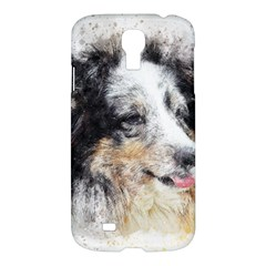 Dog Shetland Pet Art Abstract Samsung Galaxy S4 I9500/i9505 Hardshell Case