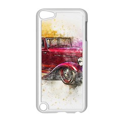 Car Old Car Art Abstract Apple Ipod Touch 5 Case (white)