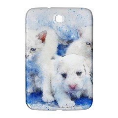 Dog Cats Pet Art Abstract Samsung Galaxy Note 8 0 N5100 Hardshell Case