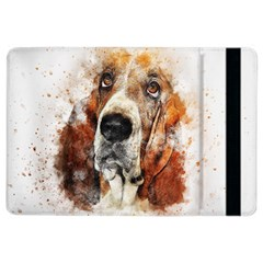 Dog Basset Pet Art Abstract Ipad Air 2 Flip