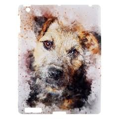 Dog Animal Pet Art Abstract Apple Ipad 3/4 Hardshell Case