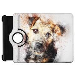 Dog Animal Pet Art Abstract Kindle Fire Hd 7