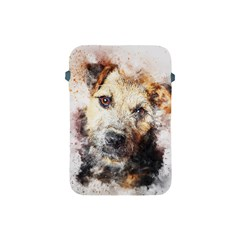 Dog Animal Pet Art Abstract Apple Ipad Mini Protective Soft Cases