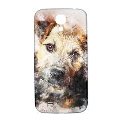 Dog Animal Pet Art Abstract Samsung Galaxy S4 I9500/i9505  Hardshell Back Case