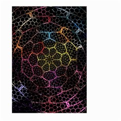 Background Grid Art Abstract Large Garden Flag (two Sides)