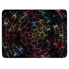 Background Grid Art Abstract Samsung Galaxy Tab 7  P1000 Flip Case