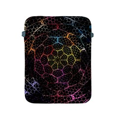 Background Grid Art Abstract Apple Ipad 2/3/4 Protective Soft Cases