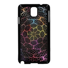 Background Grid Art Abstract Samsung Galaxy Note 3 Neo Hardshell Case (black)