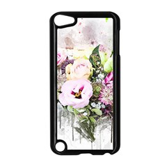 Flowers Bouquet Art Abstract Apple Ipod Touch 5 Case (black)