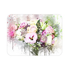 Flowers Bouquet Art Abstract Double Sided Flano Blanket (mini)