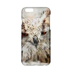 Bird Owl Animal Art Abstract Apple Iphone 6/6s Hardshell Case