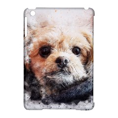 Dog Animal Pet Art Abstract Apple Ipad Mini Hardshell Case (compatible With Smart Cover)