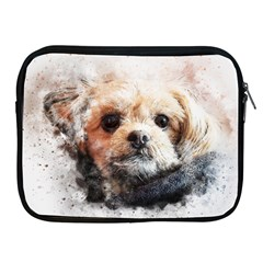 Dog Animal Pet Art Abstract Apple Ipad 2/3/4 Zipper Cases