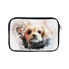 Dog Animal Pet Art Abstract Apple Ipad Mini Zipper Cases