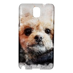 Dog Animal Pet Art Abstract Samsung Galaxy Note 3 N9005 Hardshell Case