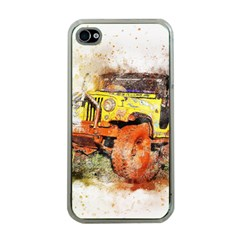 Car Old Car Fart Abstract Apple Iphone 4 Case (clear)