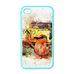 Car Old Car Fart Abstract Apple Iphone 4 Case (color)