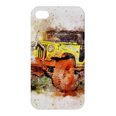 Car Old Car Fart Abstract Apple Iphone 4/4s Premium Hardshell Case