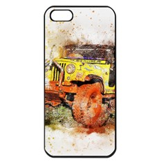 Car Old Car Fart Abstract Apple Iphone 5 Seamless Case (black)