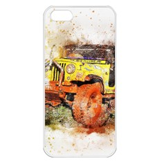 Car Old Car Fart Abstract Apple Iphone 5 Seamless Case (white)