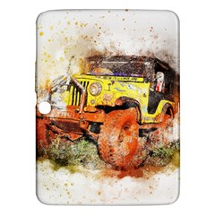 Car Old Car Fart Abstract Samsung Galaxy Tab 3 (10 1 ) P5200 Hardshell Case