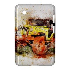 Car Old Car Fart Abstract Samsung Galaxy Tab 2 (7 ) P3100 Hardshell Case