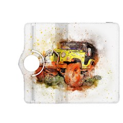 Car Old Car Fart Abstract Kindle Fire Hdx 8 9  Flip 360 Case