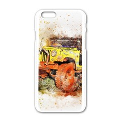 Car Old Car Fart Abstract Apple Iphone 6/6s White Enamel Case