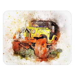 Car Old Car Fart Abstract Double Sided Flano Blanket (large)