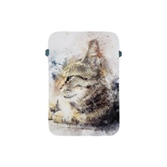 Cat Animal Art Abstract Watercolor Apple Ipad Mini Protective Soft Cases