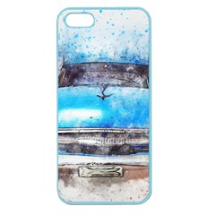 Car Old Car Art Abstract Apple Seamless Iphone 5 Case (color)