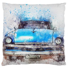 Car Old Car Art Abstract Standard Flano Cushion Case (two Sides)