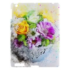 Flowers Vase Art Abstract Nature Apple Ipad 3/4 Hardshell Case