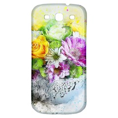 Flowers Vase Art Abstract Nature Samsung Galaxy S3 S Iii Classic Hardshell Back Case