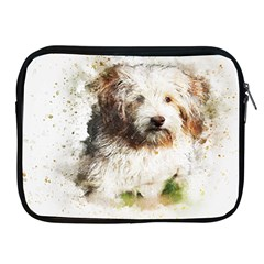 Dog Animal Pet Art Abstract Apple Ipad 2/3/4 Zipper Cases