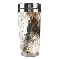 Dog Animal Pet Art Abstract Stainless Steel Travel Tumblers