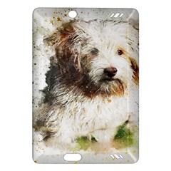 Dog Animal Pet Art Abstract Amazon Kindle Fire Hd (2013) Hardshell Case