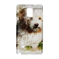 Dog Animal Pet Art Abstract Samsung Galaxy Note 4 Hardshell Case