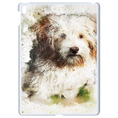 Dog Animal Pet Art Abstract Apple Ipad Pro 9 7   White Seamless Case