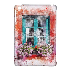 Window Flowers Nature Art Abstract Apple Ipad Mini Hardshell Case (compatible With Smart Cover)