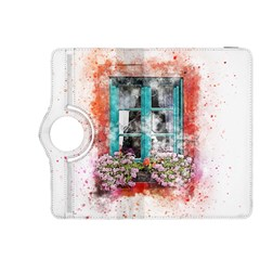 Window Flowers Nature Art Abstract Kindle Fire Hdx 8 9  Flip 360 Case