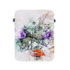 Flowers Bouquet Art Abstract Apple Ipad 2/3/4 Protective Soft Cases